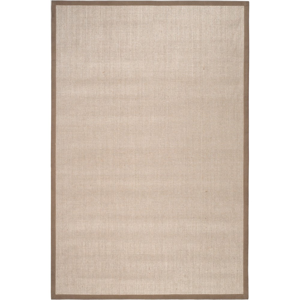 5'X8' Solid Loomed Area Rug Taupe/Light Brown (Brown/Light Brown) - Safavieh