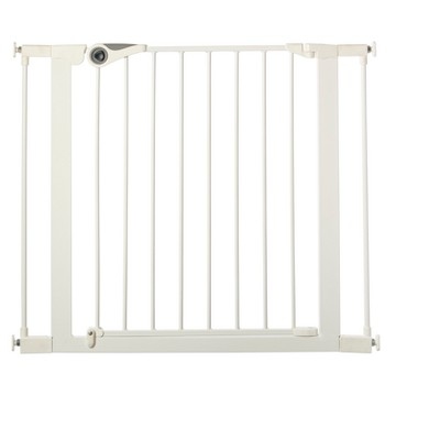 "Toddleroo By North States Essential Walk Through Baby Gate - White 29.5"" - 39.0"" Wide"