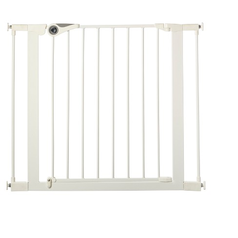 """Toddleroo By North States Essential Walk Through Baby Gate - White 29.5"""" - 39.0"""" Wide - image 1 of 4"""