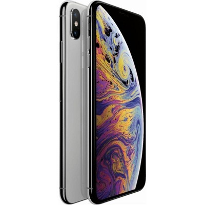 Apple iPhone Unlocked XS Pre-Owned (64GB) GSM/CDMA Phone - Silver