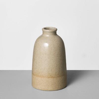 "5"" Small Stoneware Vase Gray - Hearth & Hand™ with Magnolia"