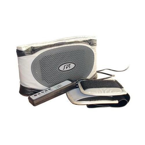 Sunpentown High Power Vibrating Massage Belt - Black/ Silver - Small