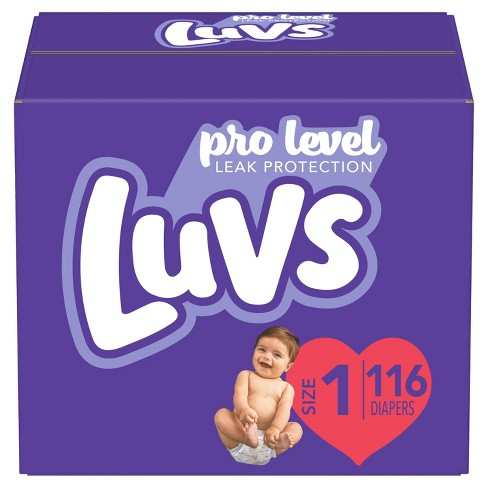 Luvs Disposable Diapers - (Select Size and Count) - image 1 of 4