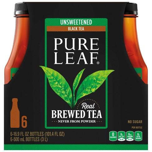Pure Leaf Unsweetened Iced Tea - 6pk/16.9 oz Bottles - image 1 of 4