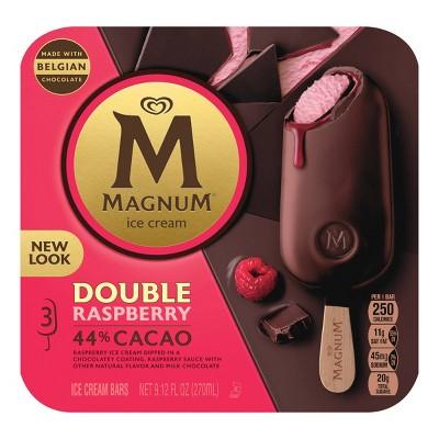 Magnum Double Raspberry Ice Cream Bars - 3ct