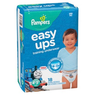 Pampers Easy Ups Boys' Training Pants Jumbo Pack - 4T-5T <br> (18ct)
