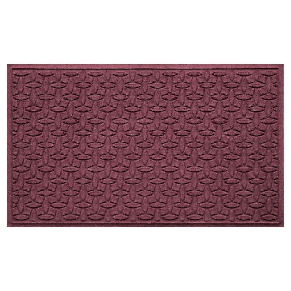 Bordeaux (Red) Solid Doormat - (3'X5') - Bungalow Flooring
