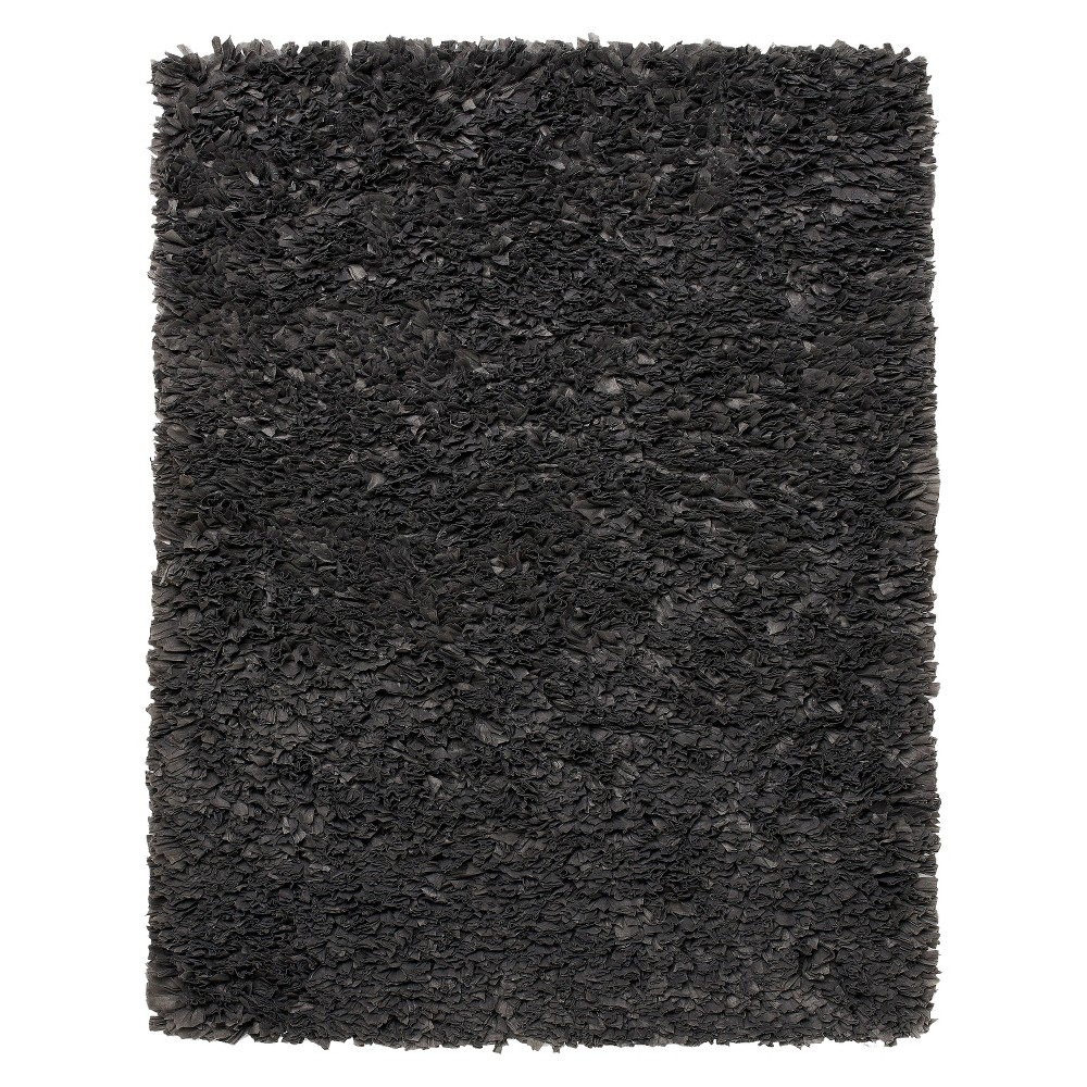 Image of 4'X6' Solid Area Rug Gray - Anji Mountain