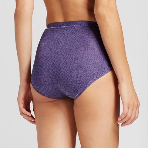 408faf07d27f Hanes® Premium Women's Cool & Comfortable 4 Pack Microfiber Briefs - Colors  Size 7 : Target