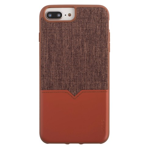 Evutec iPhone 8 Plus/7 Plus/6 Plus Case Northhill with AFIX Mount - Brown - image 1 of 7