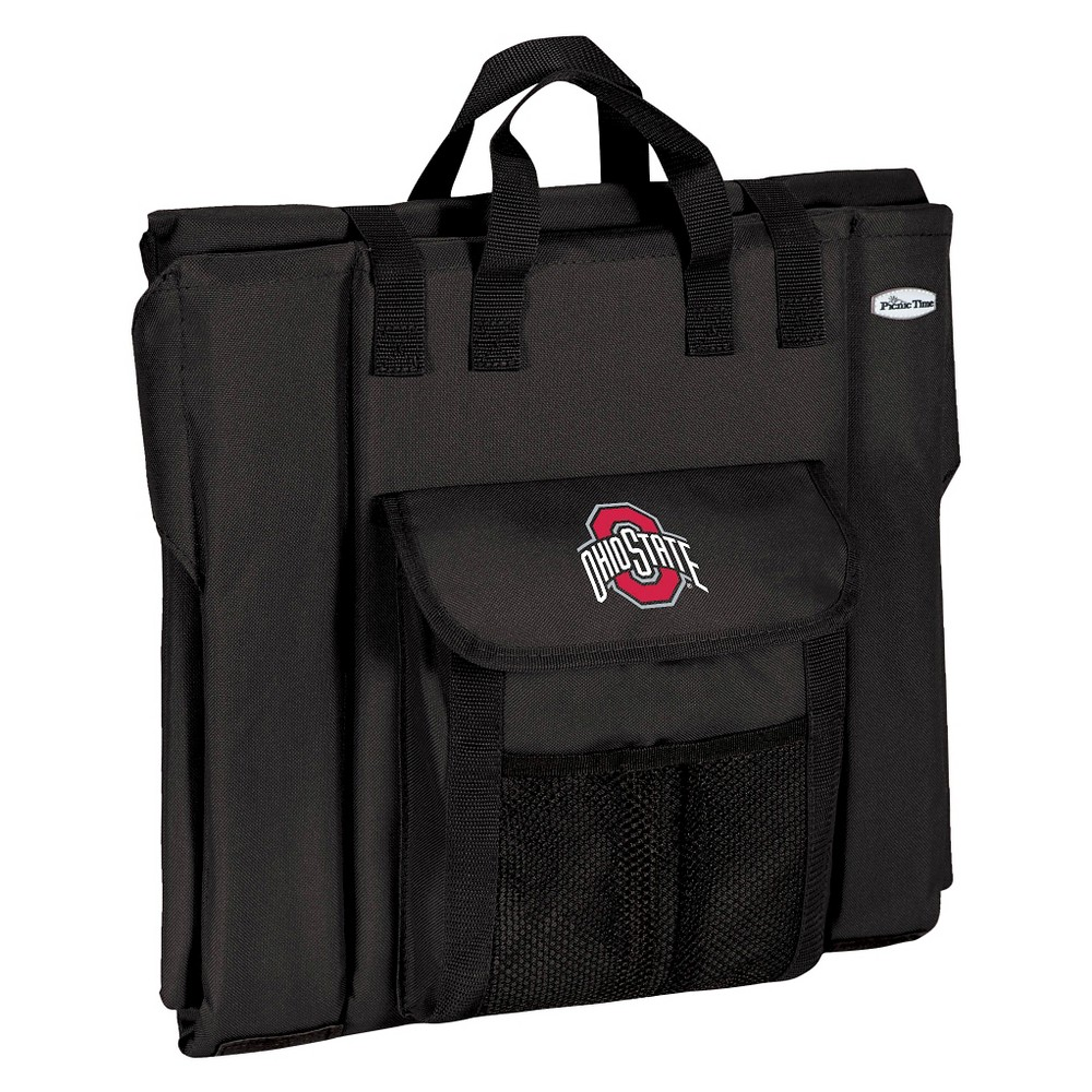 Portable Stadium Seats NCAA Ohio State Buckeyes Black