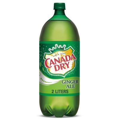 Canada Dry Ginger Ale Soda - 2 L Bottle