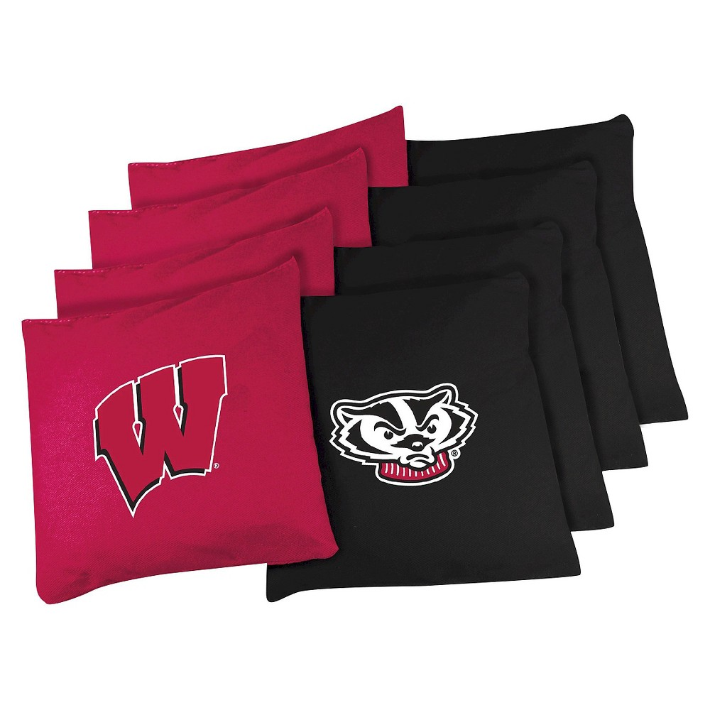 Wisconsin Badgers Wild Sports College Bean Bags - 16 Oz.