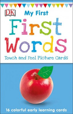 First Words - (My First Touch and Feel Picture Cards)by Jane Yorke (Paperback)