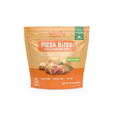 Wholly Veggie! Gluten Free Frozen Pizza Bites - 10oz
