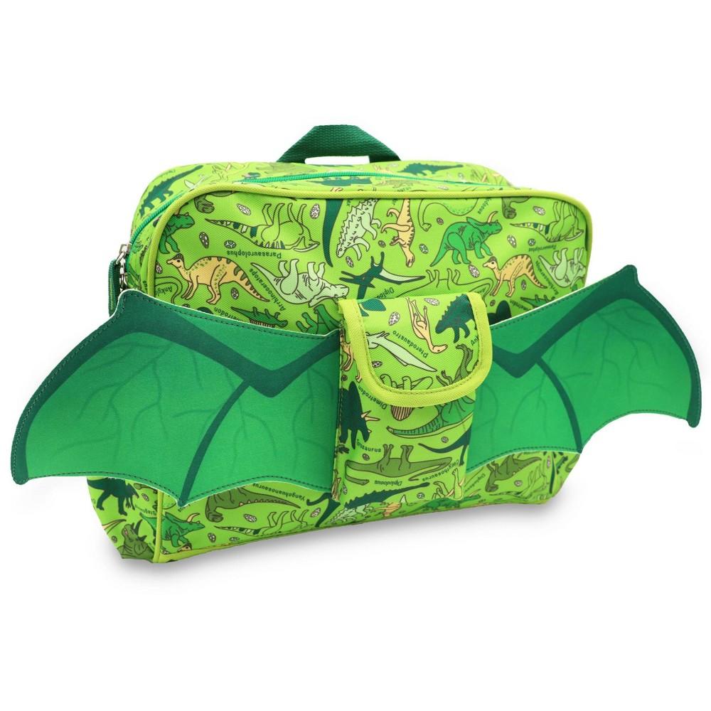 "Image of ""Bixbee 10"""" Kids' Backpack Dino Flyer, Kids Unisex, Size: Small, Green"""