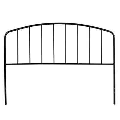 Tolland Metal Headboard Black - Hillsdale Furniture