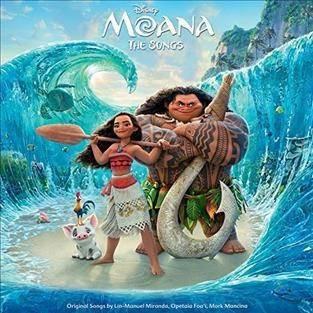 Various Artists - Moana Soundtrack (Vinyl)