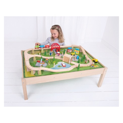 Train Set And Table In A Box