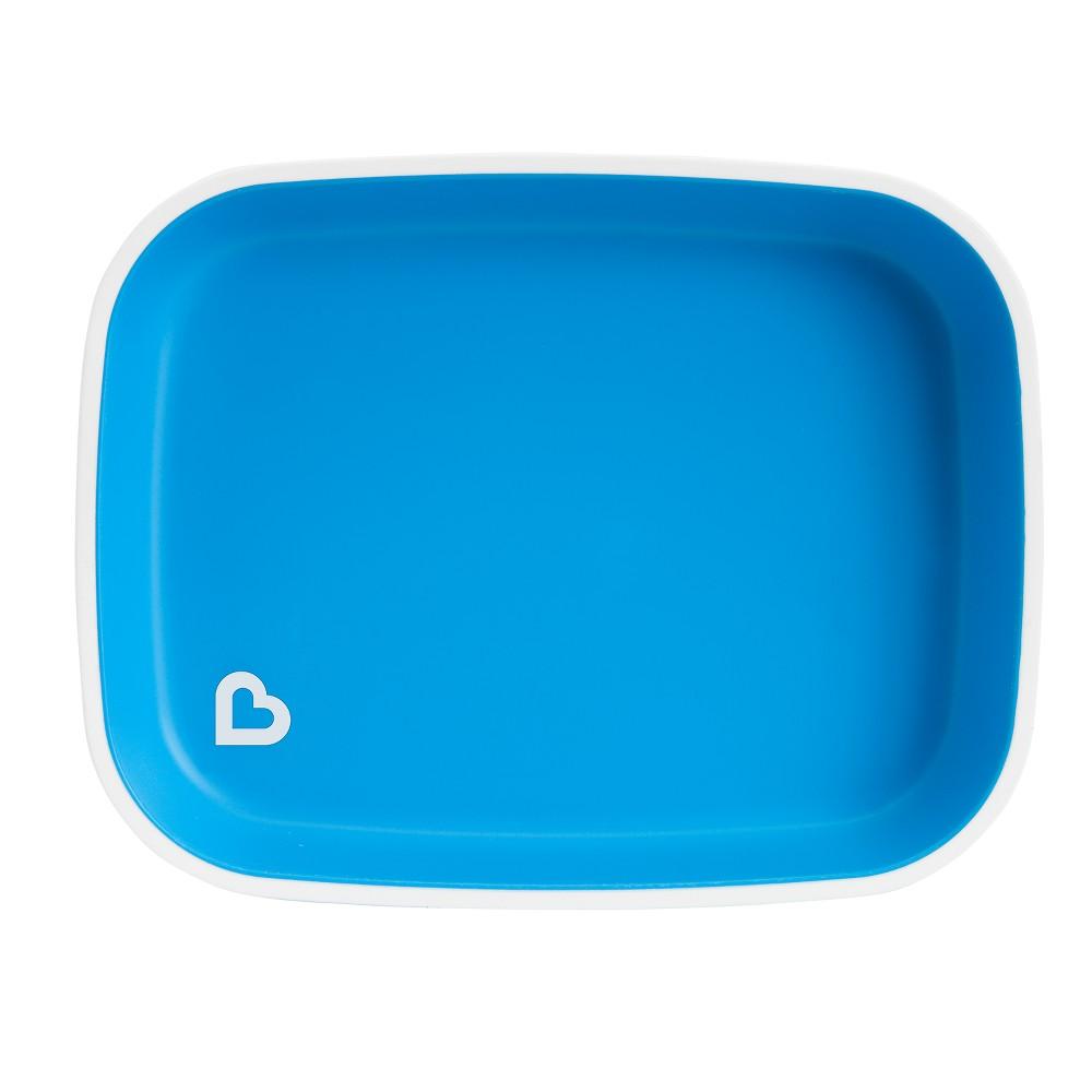 Munchkin Splash Flat Plate - Blue