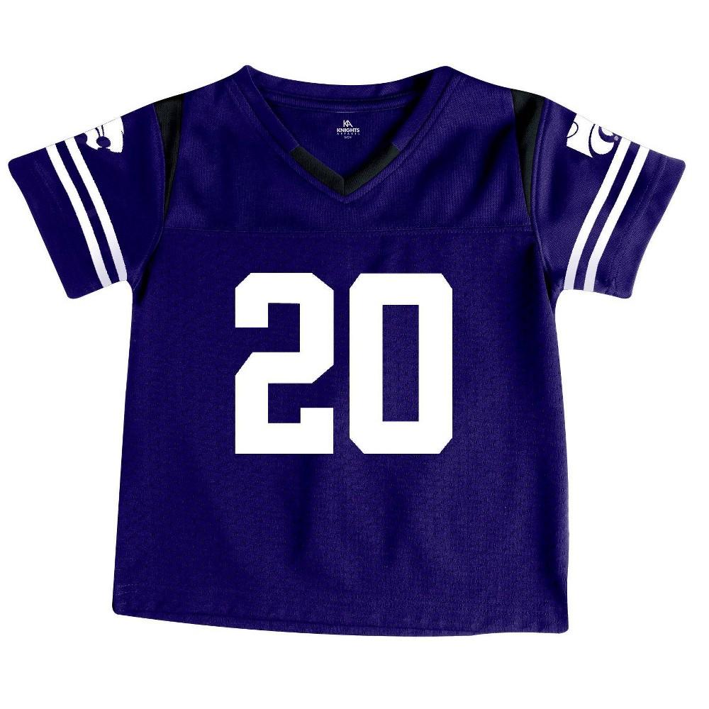 Ncaa Kansas State Wildcats Toddler Boys 39 Short Sleeve Jersey 2t