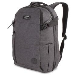 "SWISSGEAR Getaway 18"" Weekend Laptop Backpack - Heather Gray"