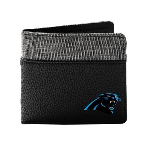 NFL Carolina Panthers Pebble BiFold Wallet - image 1 of 2