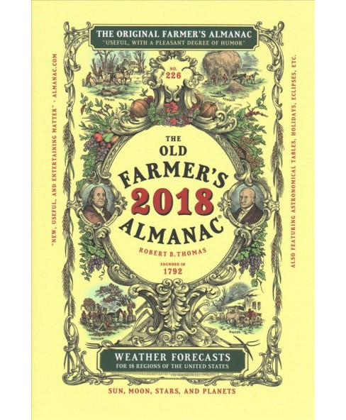 Old Farmer's Almanac 2018 (Hardcover) - image 1 of 1