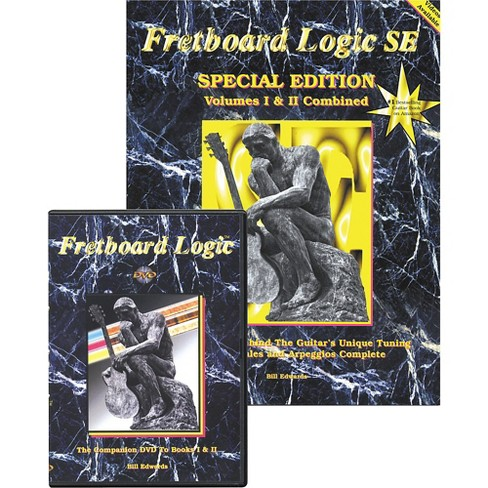 Bill Edwards Publishing Fretboard Logic DVD with SE Special Edition Combo - image 1 of 3