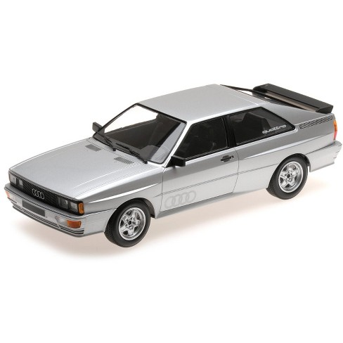 1980 Audi Quattro Silver Limited Edition to 504 pieces Worldwide 1/18 Diecast Model Car by Minichamps - image 1 of 2