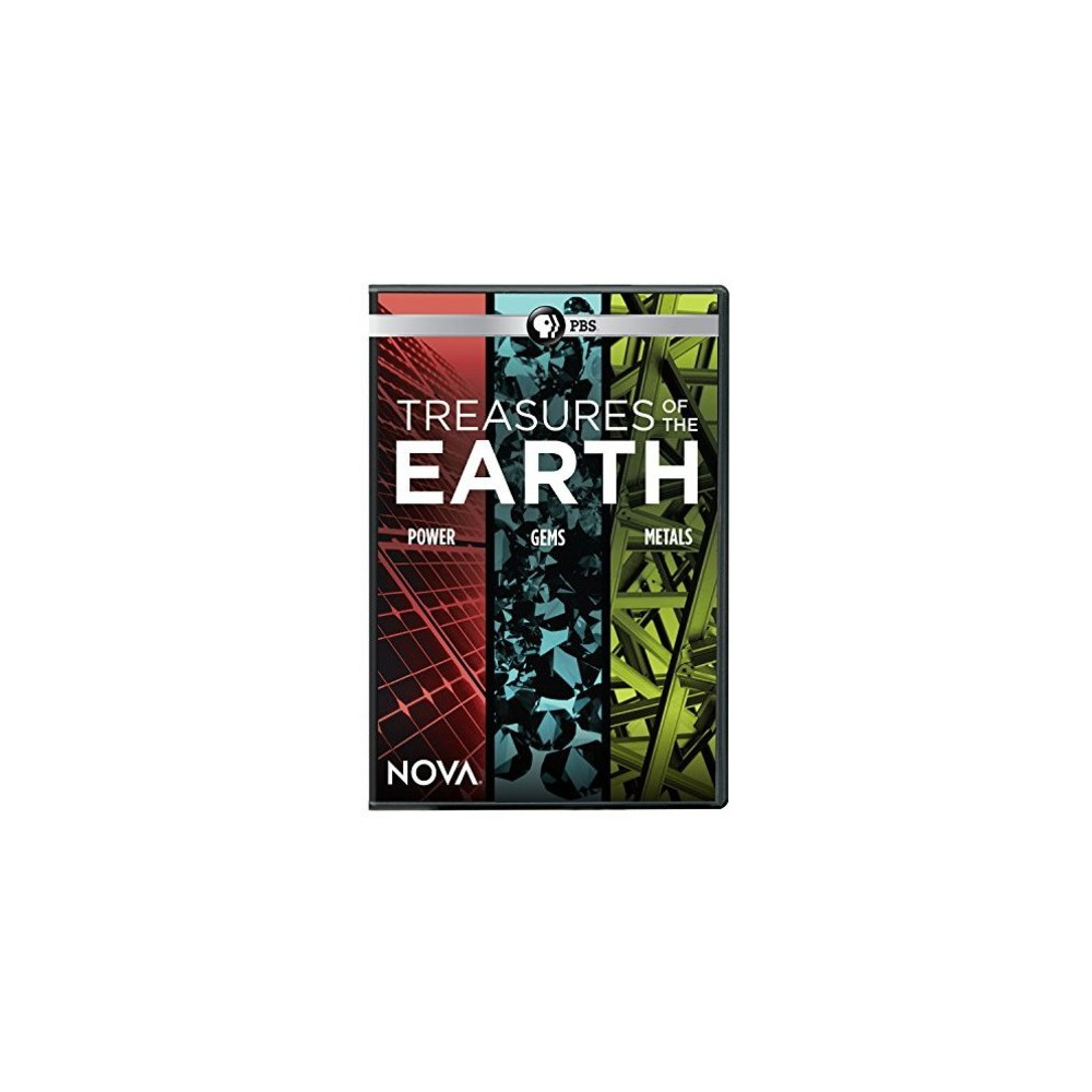 Nova:Treasures Of The Earth (Dvd)