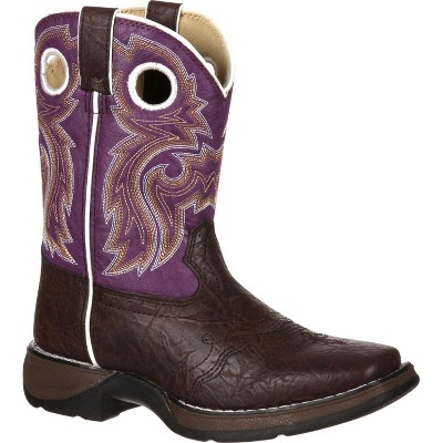 LIL' DURANGO Girls Little Kid Purple Western Boot