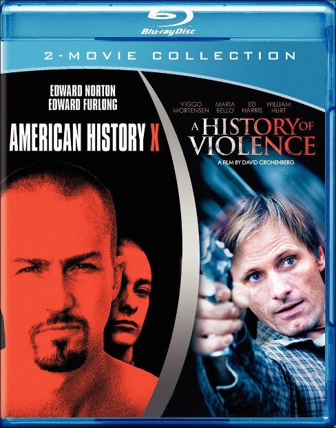 American History X/A History of Violence (Blu-ray) - image 1 of 1