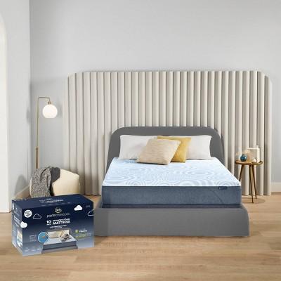 "Serta Perfect Sleeper 10"" Gel Memory Foam Cooling Mattress"