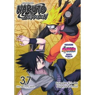 Naruto Shippuden: Box Set 37 (DVD)(2019)