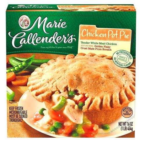 Marie Callenders Chicken Frozen Pot Pie 16oz Target