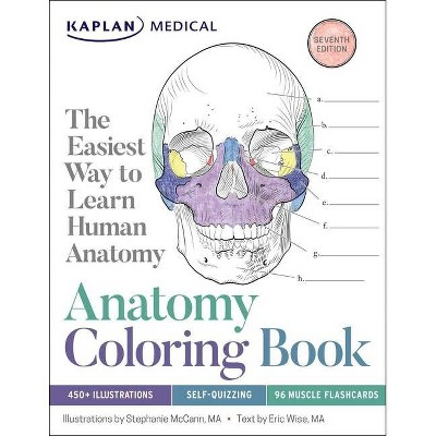 Anatomy Coloring Book - 7th Edition by  Stephanie McCann & Eric Wise (Paperback)
