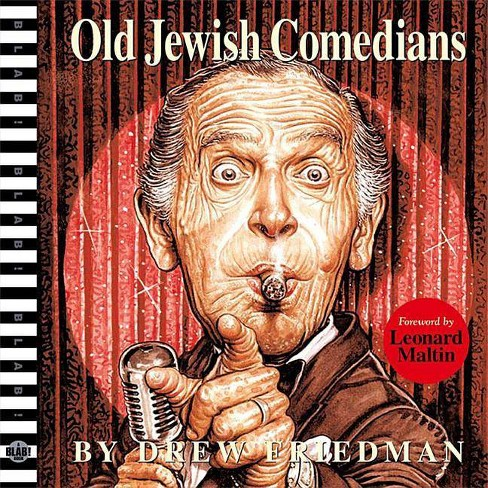 Old Jewish Comedians - (Blab!) by  Drew Friedman (Hardcover) - image 1 of 1