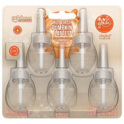 Glade Piso Refills - Pumpkin Spice Latte - 3.35oz/5ct