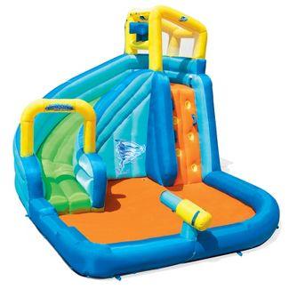 H2OGO! Hydrostorm Splash Kids Inflatable Slide Water Park