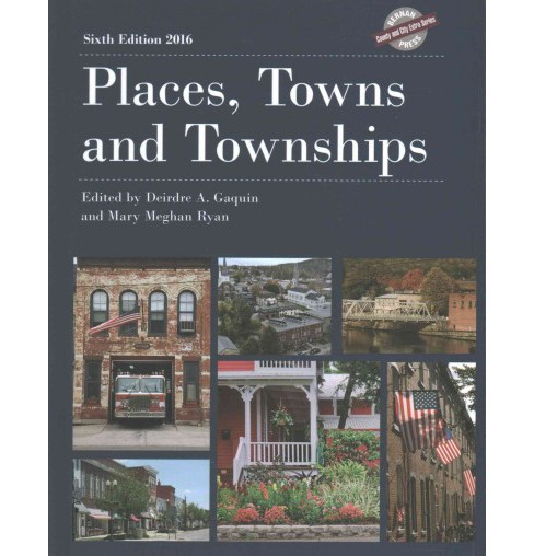 Places, Towns and Townships 2016 (Hardcover) - image 1 of 1