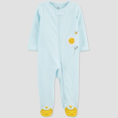 Baby Girls' Bee Sleep N' Play - Just One You® made by carter's Blue Newborn