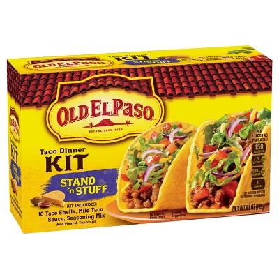 Old El Paso Stand 'n Stuff Taco Dinner Kit - 8.8oz