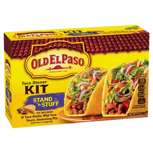Old El Paso® Stand 'N Stuff Taco Dinner Kit 8.8 oz. - image 1 of 1