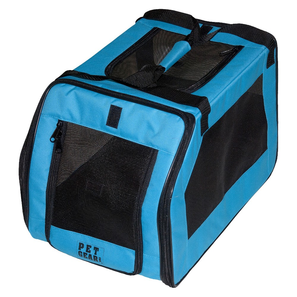 Pet Gear Signature Car Seat and Cat and Dog Carrier - S - Aqua Cheap