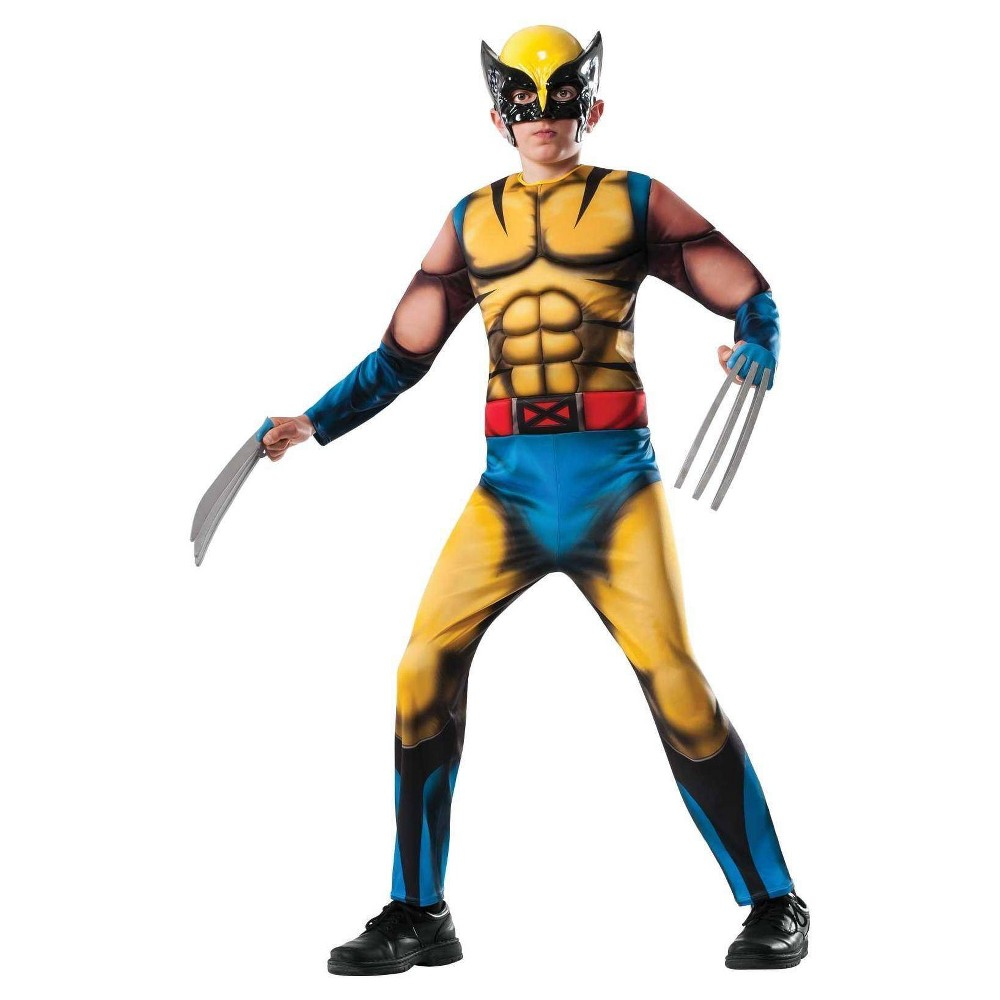 Image of Halloween Marvel Boys' Wolverine Costume Medium (8-10), Boy's, Size: Medium(8-10)