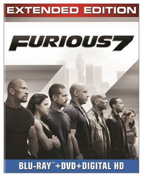 Furious 7 [Includes Digital Copy] [Blu-ray/DVD] - image 1 of 1