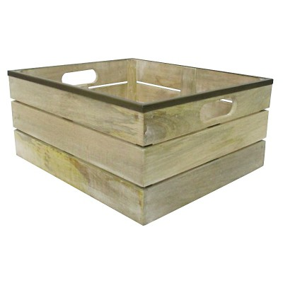 Storage Bin - Wood - Smith & Hawken™