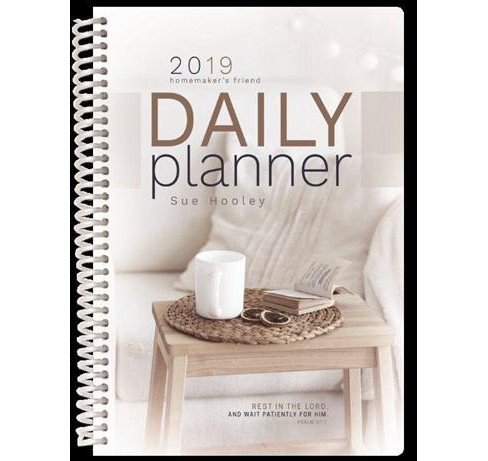 Homemaker's Friend 2019 Daily Planner -  Indexed by Sue Hooley (Paperback) - image 1 of 1