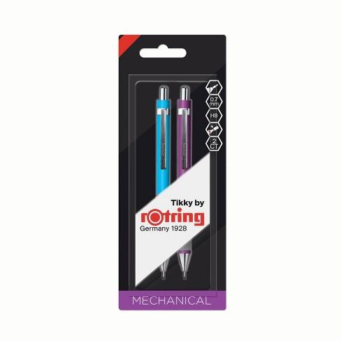 2pk #2 Tikky Mechanical Pencil Duo Set Purple & Blue - rOtring - image 1 of 3